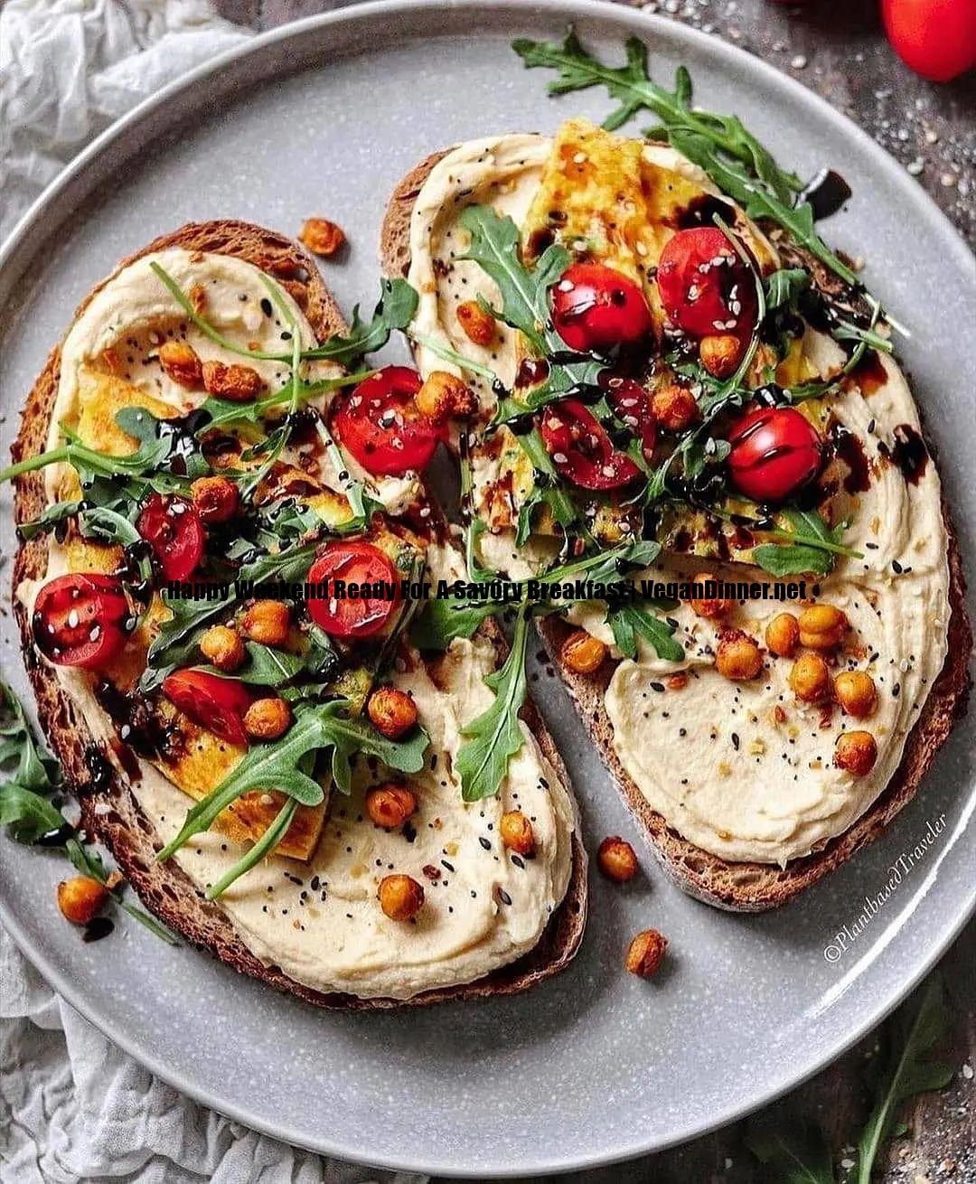 happy weekend ready for a savory breakfast display image df