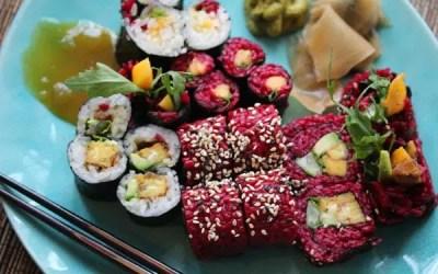Pink Sushi – das genialste Rezept für wilde vegane Mamis