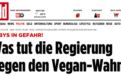 Vegane Kinder in der Presse