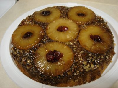 Piña Colada Pineapple Upside-Down Cake