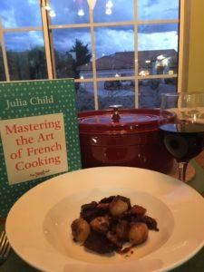 My Homage to Julia Child – Veganifying Boeuf Bourguignon