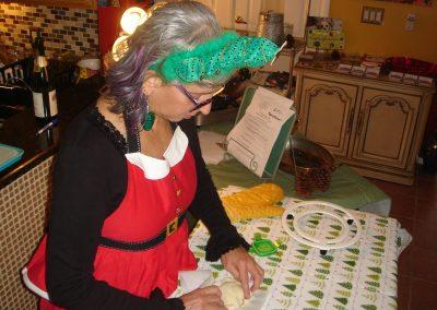 Preparing Burgundy Mushrooms En Croute
