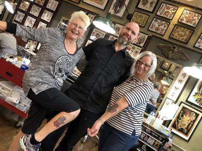 The Impetus That Started It All – Vegan Tattoo – Portland Veg Tour Part 4