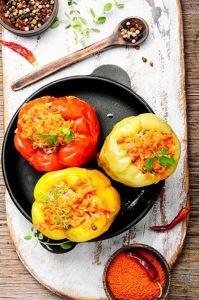 Stuffed pepper