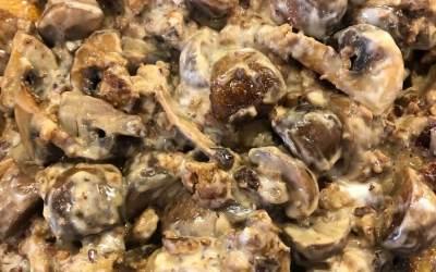 Quick 'n' Easy Mushroom Sausage Stroganoff