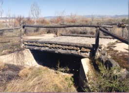 Historic bridge in the Dugway Proving Grounds Photo by Jesse Petersen