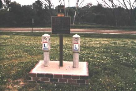 Lincoln Highway Monument in Elkhorn Photo by C.N. Plummer