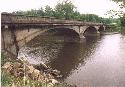 1912 Eureka Bridge, west of Jefferson Photos by Paul Walker