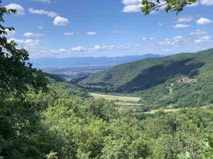 Panorama della vallata