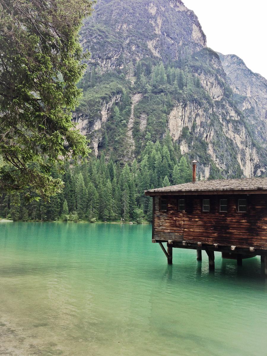 Pragser Wildsee Bootshaus