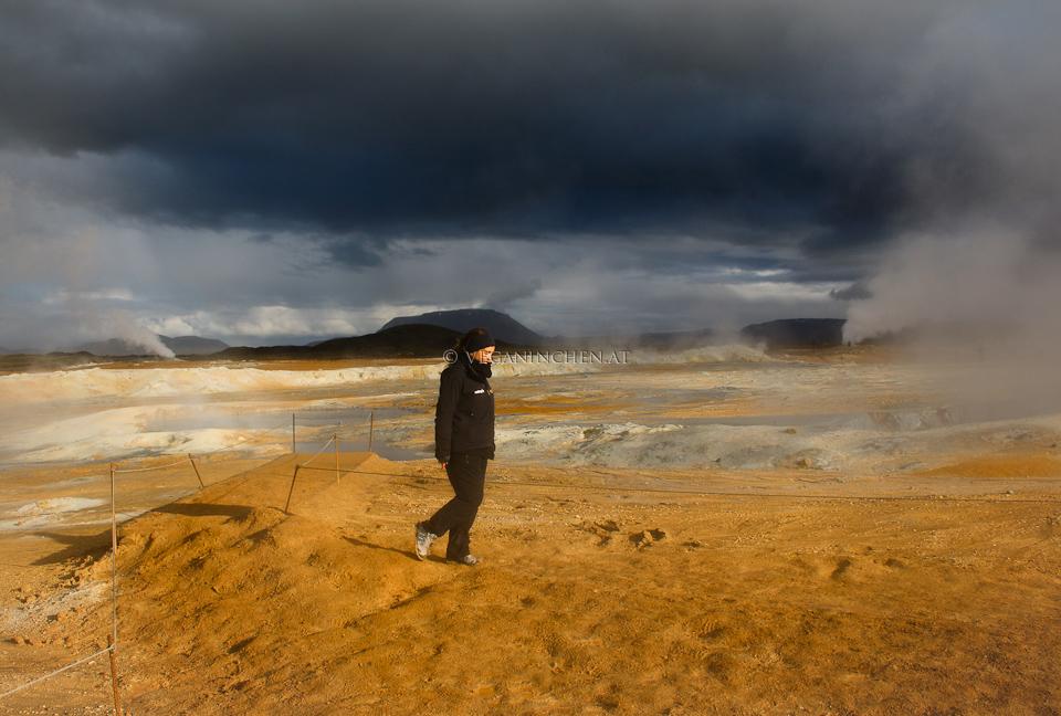 Mývatn Namafjall Hverir Island