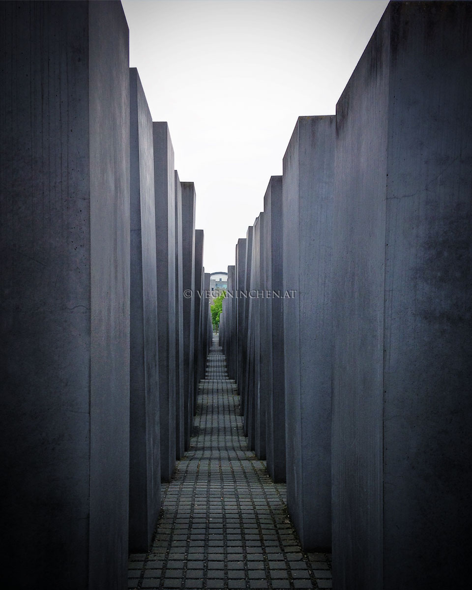Berlin Holocaust Mahnmal veganinchen