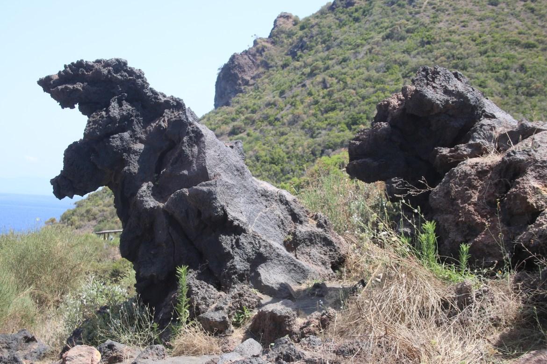 Valle dei Mostri Vulcano veganinchen