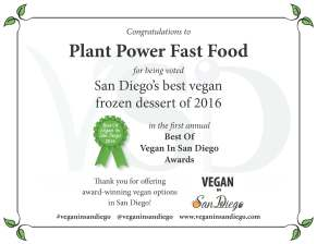 Best Dessert 2016 Plant Power