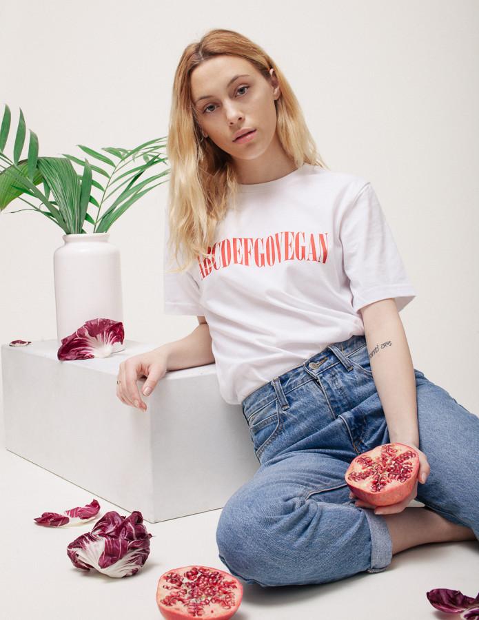 The ABCDEFGOVEGAN Shirt - Veganized World Apparel