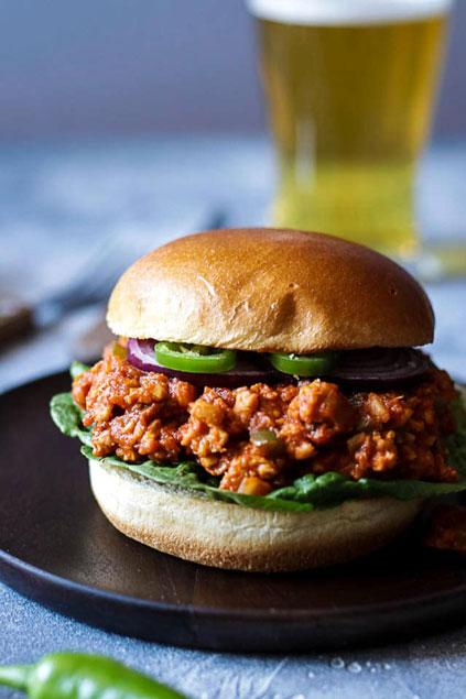 Perfect Vegan Sloppy Joes on Happy Kitchen