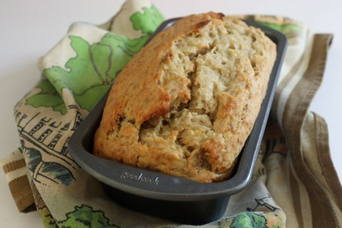 Vegan Banana Bread Recipe from the College Vegan cookbook