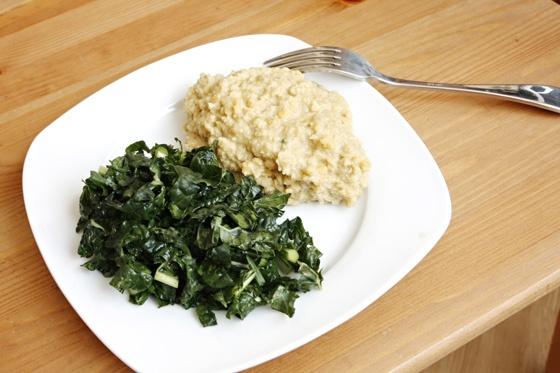 Red Lentil-Cauliflower Mashed Potatoes