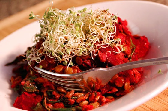 Maple-Dijon Lentil Salad