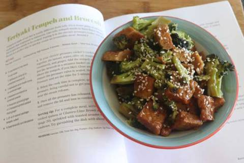 Teriyaki Tempeh & Broccoli - from The Vegan Electric Pressure Cooker