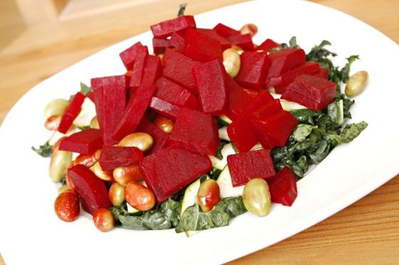 Vegan Valentine's Salad