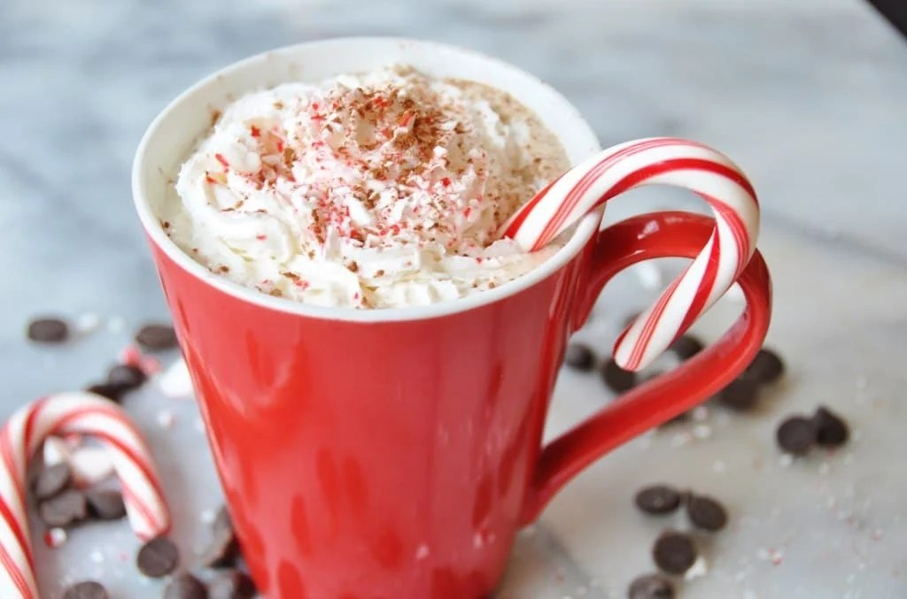 Image result for Peppermint Mocha Coffee