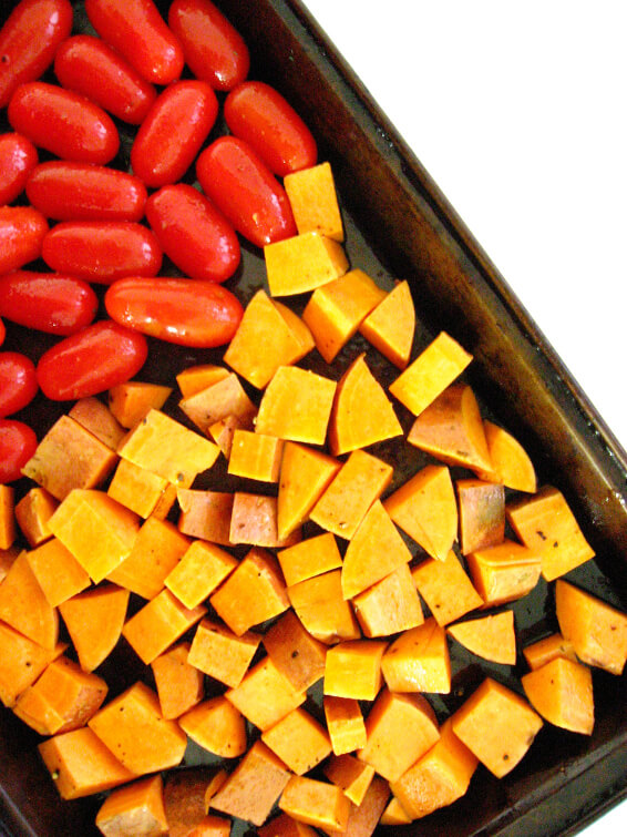 vegan baked sweet potatoes veganprogram