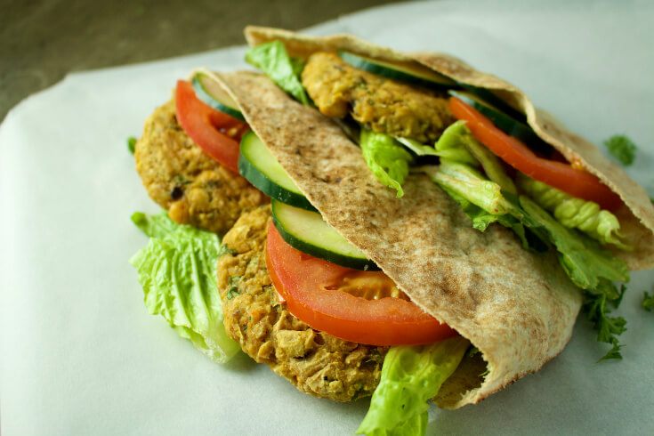 chickpea vegan patty recipe veganprogram