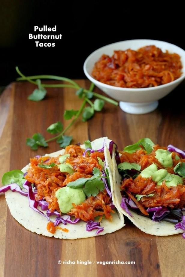 Butternut Squash Tacos | VeganRicha.com