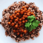 Easy Vegan BBQ Chickpeas and Rice