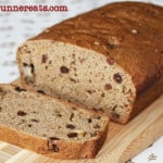 Vegan oil-free banana nut bread recipe