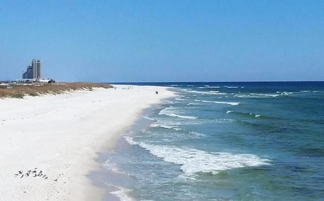 Beach in Gulf Shores