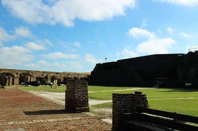 Inside Ft Sumter