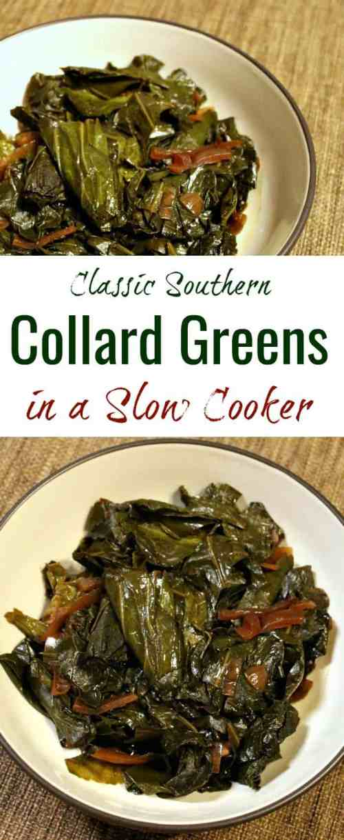 Classic Southern vegan collard greens recipe | vegan collard greens