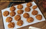 Vegan peanut butter and pumpkin cookies recipe
