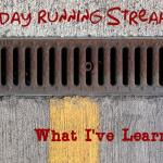 Holiday Running Streak is Over: What I've Learned from the Experience of Running Every Day through the Holidays.