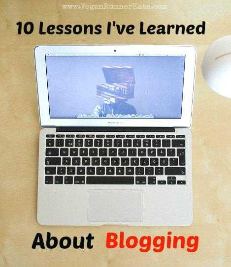 10 lessons I've Learned about Blogging