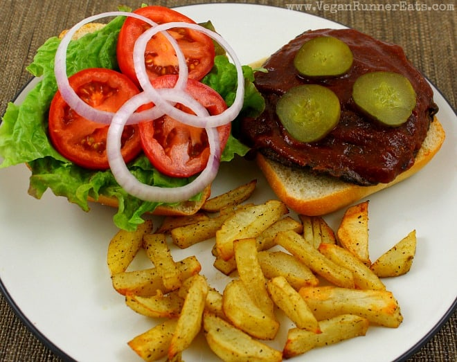 Vegan BBQ Portobello Sandwich recipe