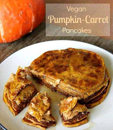Vegan Pumpkin Carrot Pancakes_main
