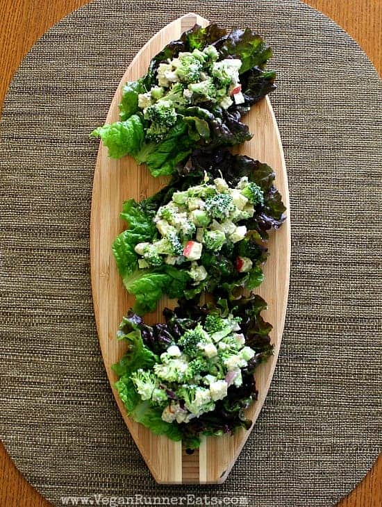 Broccoli Apple Winter Salad Tacos VVP 2014