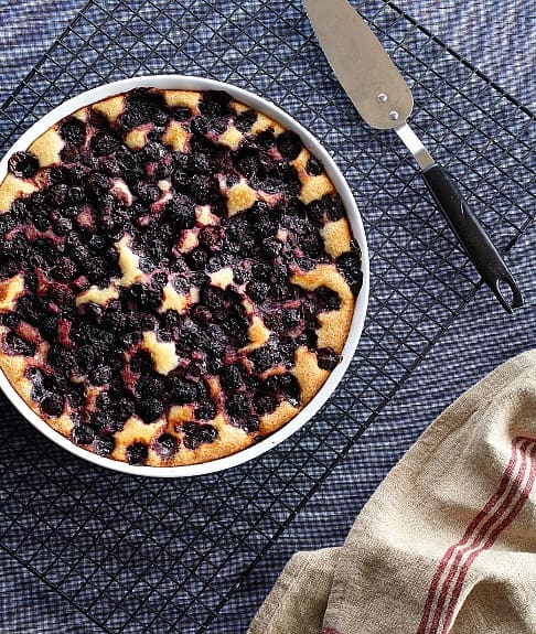 Bumbleberry Cobbler recipe from Vegan Casseroles