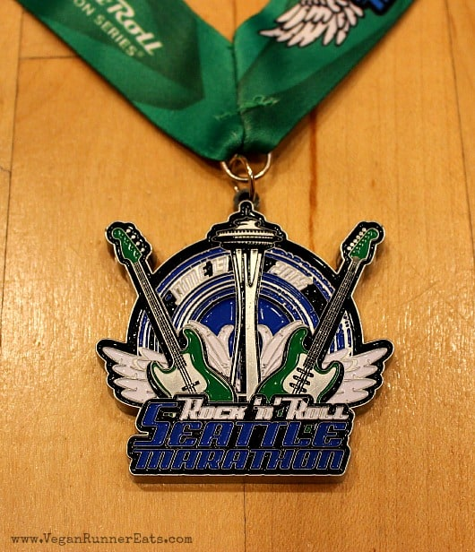 Rock'n'Roll Seattle Marathon 2015 finisher's medal