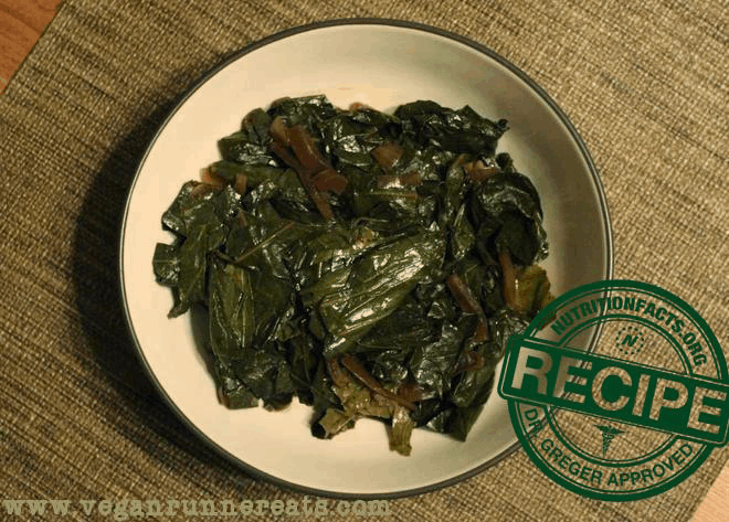 Vegan Collard Greens in a Slow Cooker