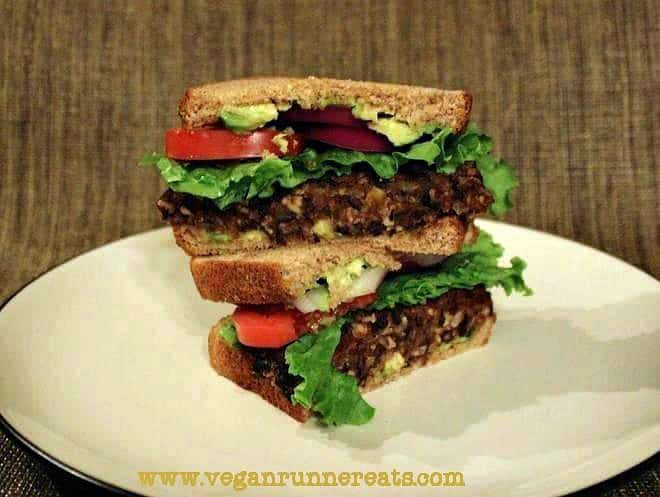 Homemade Black Bean & Tempeh Burger Recipe