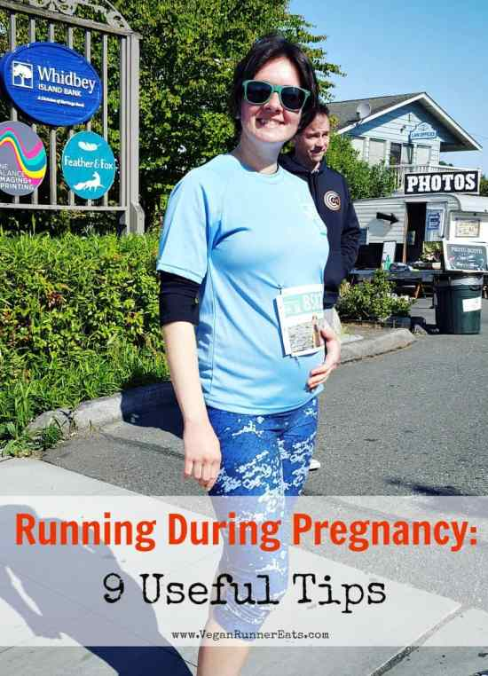 Tips on running during pregnancy