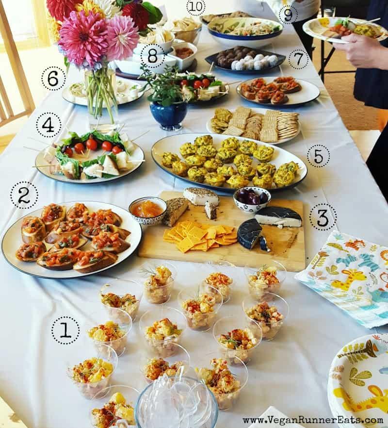 Vegan baby shower menu planning   vegan recipe ideas   vegan baby shower recipes