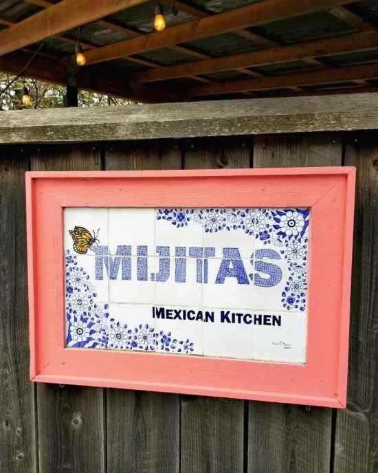 Vegan options at Mijitas Mexican Kitchen restaurant on Orcas Island, WA