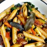 Veggie-Loaded Balsamic Pasta – an Easy Vegan Pasta Recipe