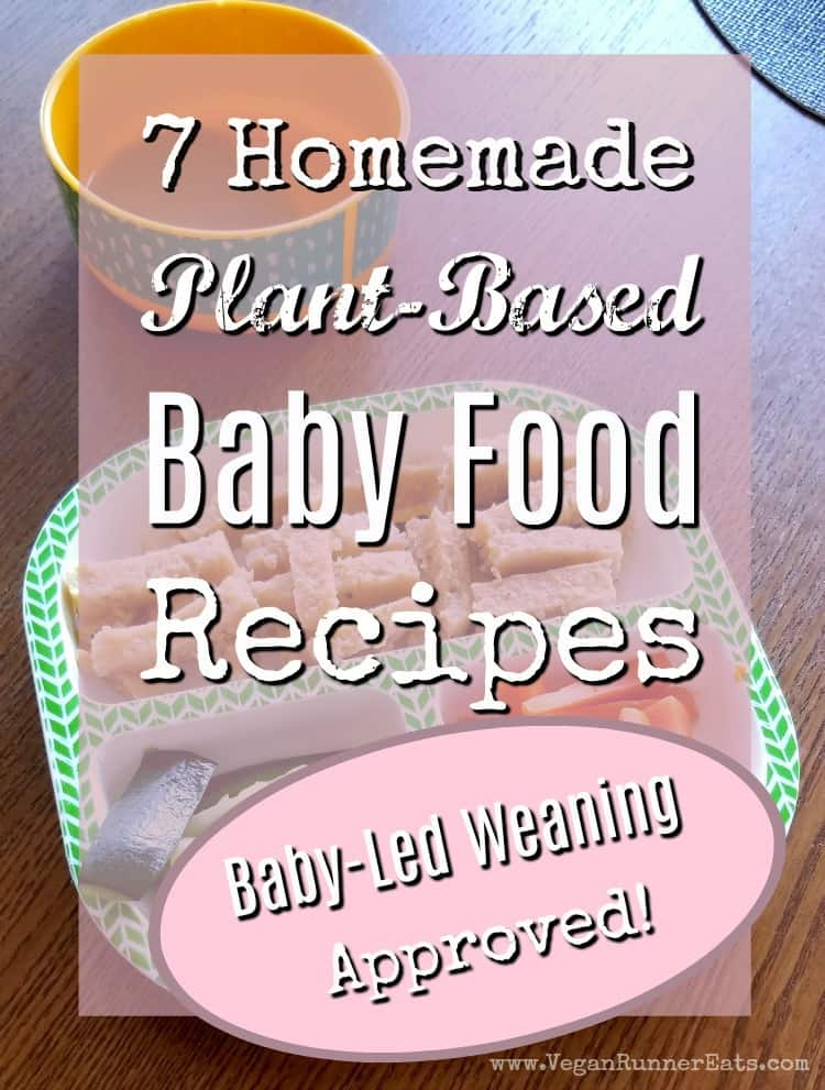 7 homemade plant-based baby food recipes - baby-led weaning approved