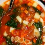 Vegan Minestrone Soup with a Twist!